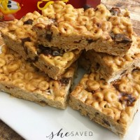 Easy Chocolate Chip Cheerio Bars Recipe