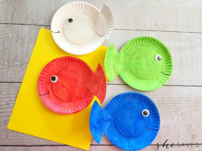 Paper Fish Craft