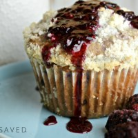 Homemade Blackberry Muffins Recipe