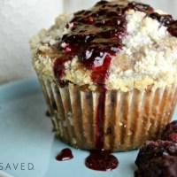 Homemade Blackberry Muffins Recipe