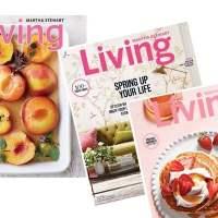 RARE! Martha Stewart Living Magazine: Only $4.99 per Year!