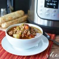 Instant Pot Italian Soup Recipe