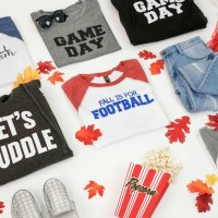 Sports Moms! Game Day Raglan Tees for $16.95 + FREE SHIPPING