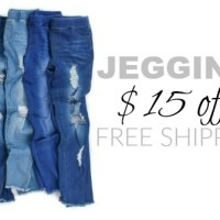 Leggings & Jeggings SALE!! $15 Off + FREE Shipping (starting at $7.95 shipped!)