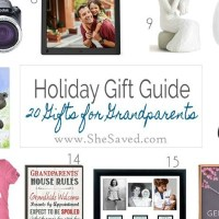 HOLIDAY GIFT GUIDE: Gifts for Grandparents