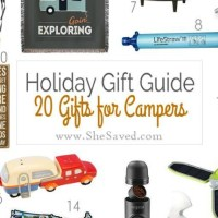 HOLIDAY GIFT GUIDE: Gifts for Campers