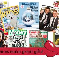 HUGE Magazine Sale + FREE Gift Announcement Postcard!