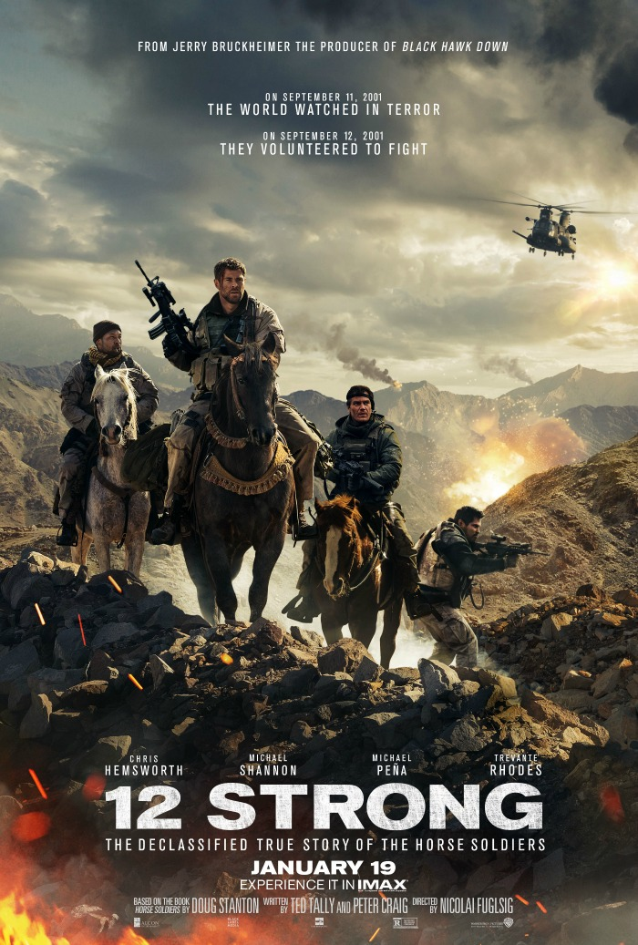 12 Strong Movie in theaters January 19th!