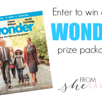 WONDER Available on Blu-ray & DVD NOW + Giveaway