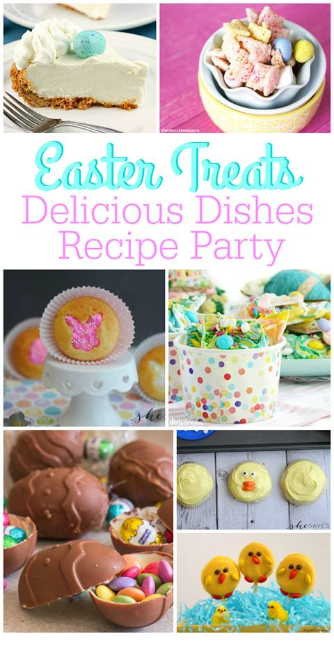 Perfect for your Easter celebrations, this round up of favorite Easter Treats will make every BUNNY happy!