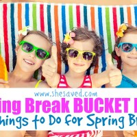 Spring Break Bucket List: 40 Things to Do for Spring Break