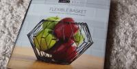 Flexible Basket: Countertop Folding Fruit Basket (5 Shapes ...