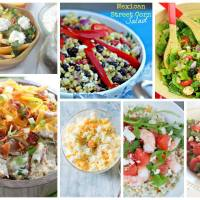 Delicious Dishes Party: Favorite Spring Salad Recipes