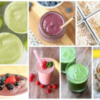 Delicious Dishes Party: Healthy Breakfast Smoothies