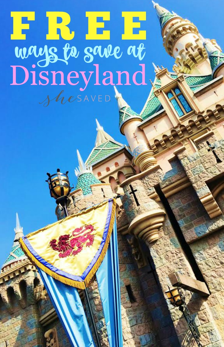 Make your trip to Disney even more enjoyable with these FREE ways to save at Disneyland!