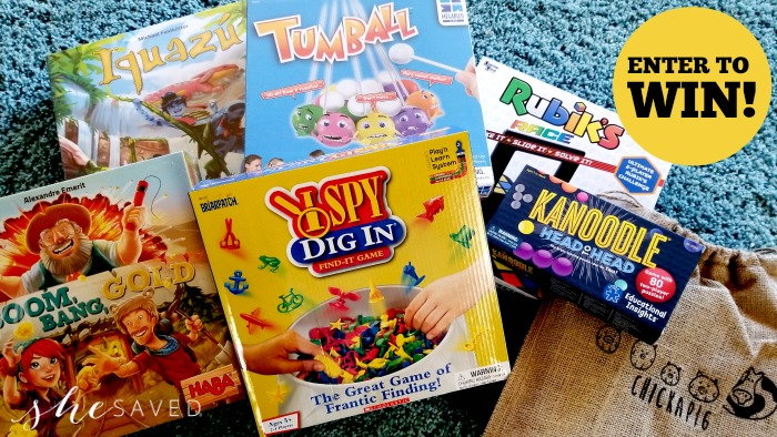 family game giveaway