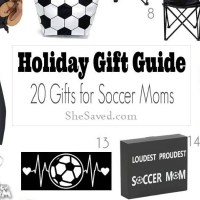 Holiday Gift Guide: Gifts for Soccer Moms