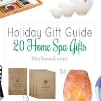 Holiday Gift Guide: Home Spa Gift Ideas