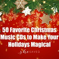 50 Favorite Christmas Music CDs to Make Your Holidays Magical