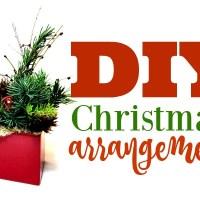 DIY Simple Christmas Arrangement