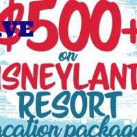 Save BIG on a Disneyland Vacation Package!