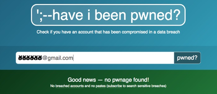 How to use Have I Been Pwned