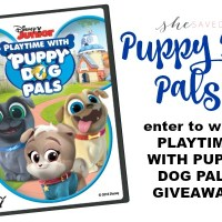 Playtime with Puppy Dog Pals on DVD!