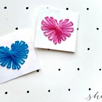 Valentine's Day Craft: String Heart Art