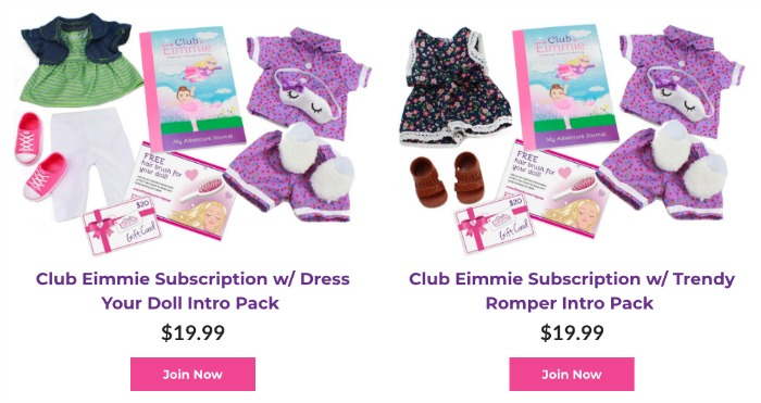 Club Eimmie Choices