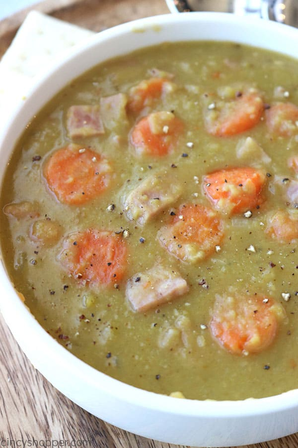 Slow Cooker Split Pea Soup from Cincy Shopper