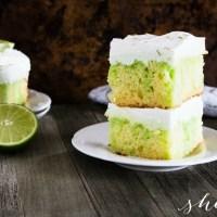 EASY Lime Poke Cake Recipe
