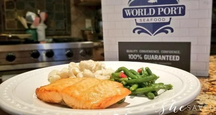 Omaha Steaks Salmon Fillet World Port