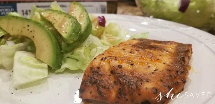 Omaha Steaks Salmon