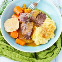 Instant Pot Short Ribs with Root Vegetables