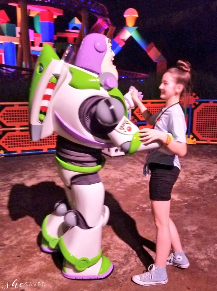 Dancing with Buzz Lightyear