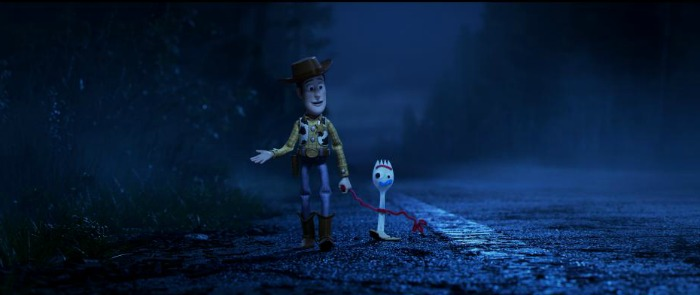 Relationship between Woody and Forky