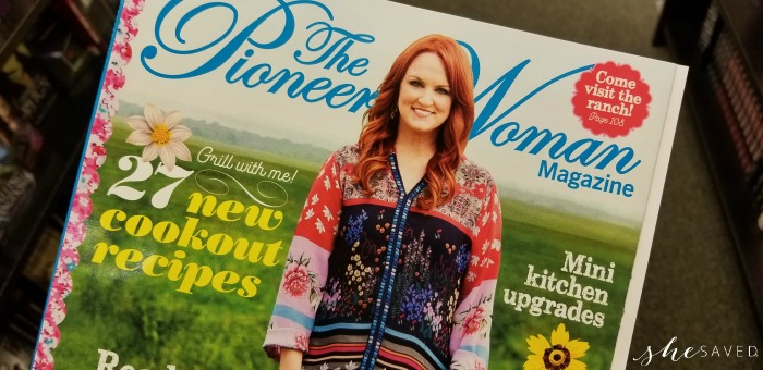 Hot deal on Pioneer Woman magazine
