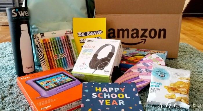 Amazon Happy School Year Supplies