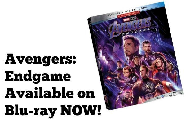 Avengers Endgame on Blu-ray
