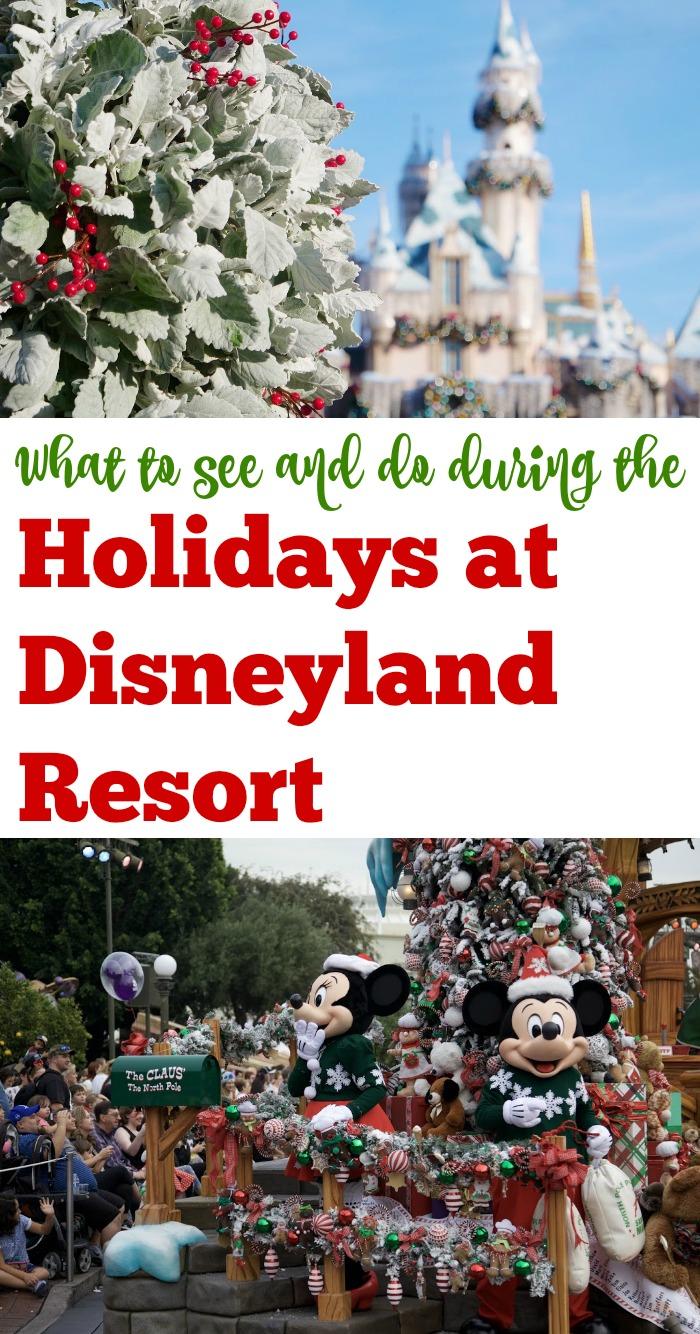 Holidays at Disneyland