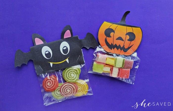 Free Halloween Treat Bag Printable