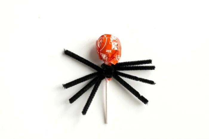 Spider lollipop legs