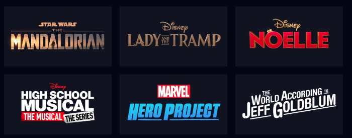 Disney+ Streaming Movies