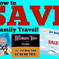 Travel Deals for Families: Exclusive Cruise Sale, Kids FREE San Diego and Halloween Time at Disneyland