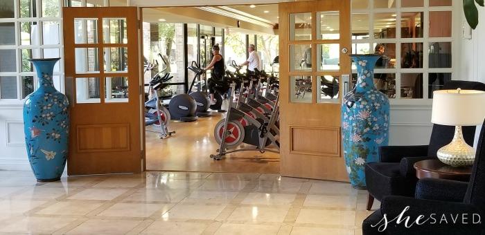 Hilton Anatole Fitness Center