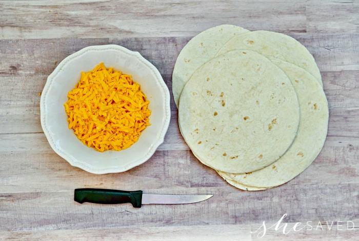 Pumpkin Face Tortilla SUPPLIES