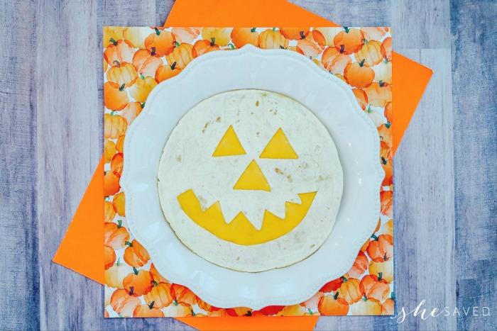 Pumpkin Quesadilla