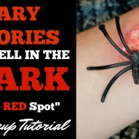 """Scary Stories to Tell in the Dark """"The Red Spot"""" Makeup Tutorial + Giveaway!"""