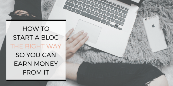 How to start a blog the right way so you can earn money from it | monetize | blogging | tips | make money blogging | | www.shesbabely.com