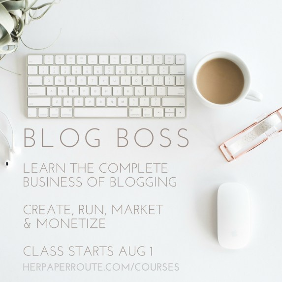 BLOG BOSS LEARN TO CREATE A PROFITABLE BLOG - Online course